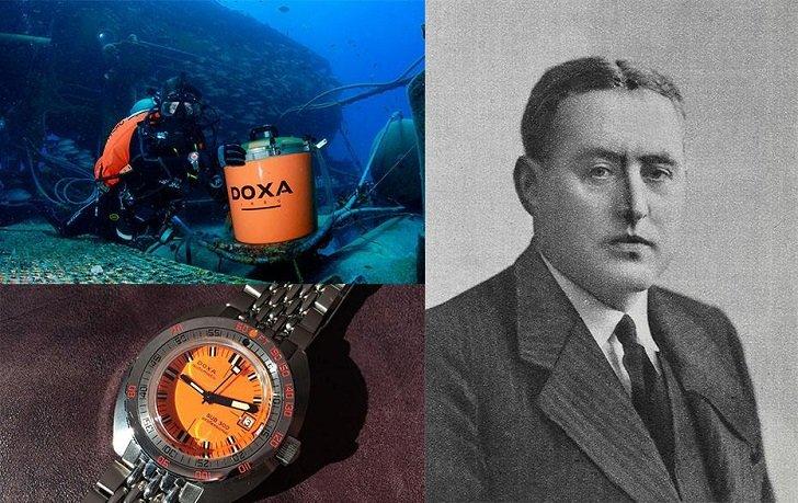 Đồng hồ Doxa D216RIY Thụy Sỹ máy cơ sang trọng, đẳng cấp - Ảnh: 2