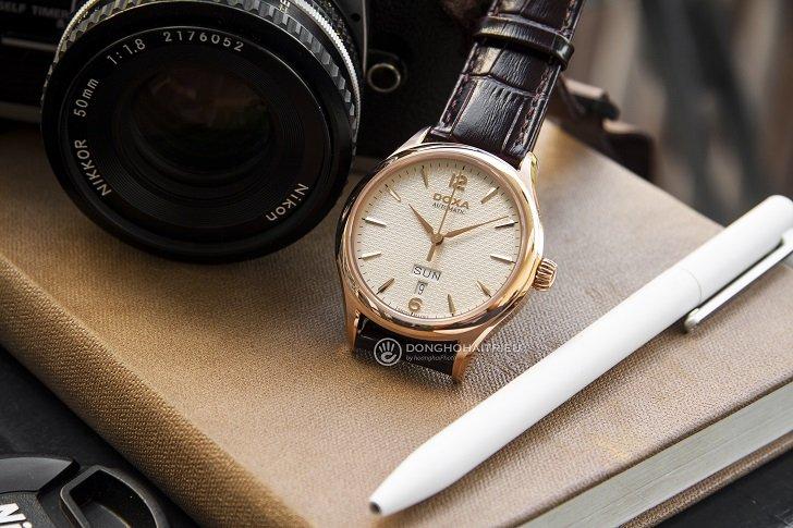 Đồng hồ Doxa D216RIY Thụy Sỹ máy cơ sang trọng, đẳng cấp - Ảnh: 3