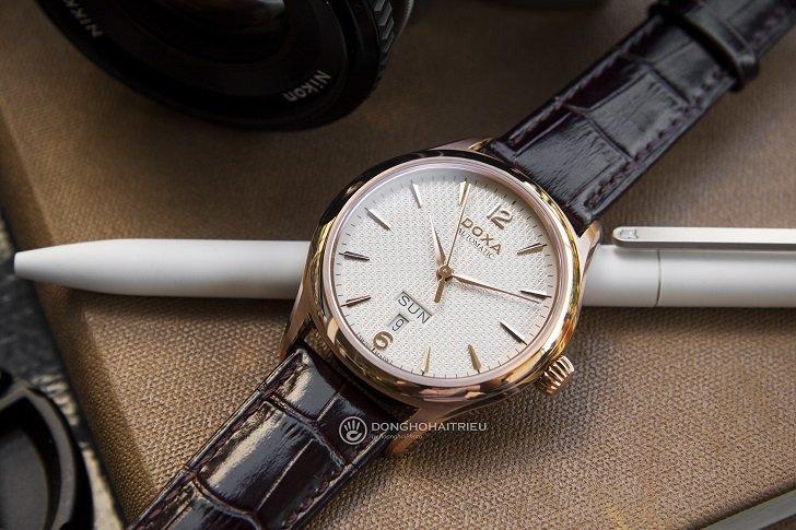 Đồng hồ Doxa D216RIY Thụy Sỹ máy cơ sang trọng, đẳng cấp - Ảnh: 4
