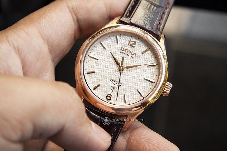 Đồng hồ Doxa D216RIY Thụy Sỹ máy cơ sang trọng, đẳng cấp - Ảnh: 6