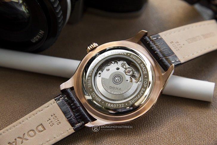 Đồng hồ Doxa D216RIY Thụy Sỹ máy cơ sang trọng, đẳng cấp - Ảnh: 8