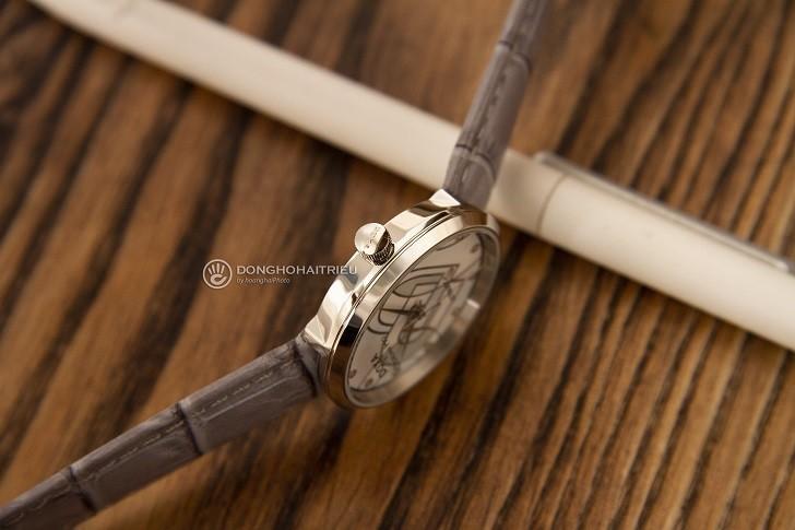 Đồng hồ Doxa D225SBU đính 12 kim cương | Collab Dorian Ho - Ảnh: 1