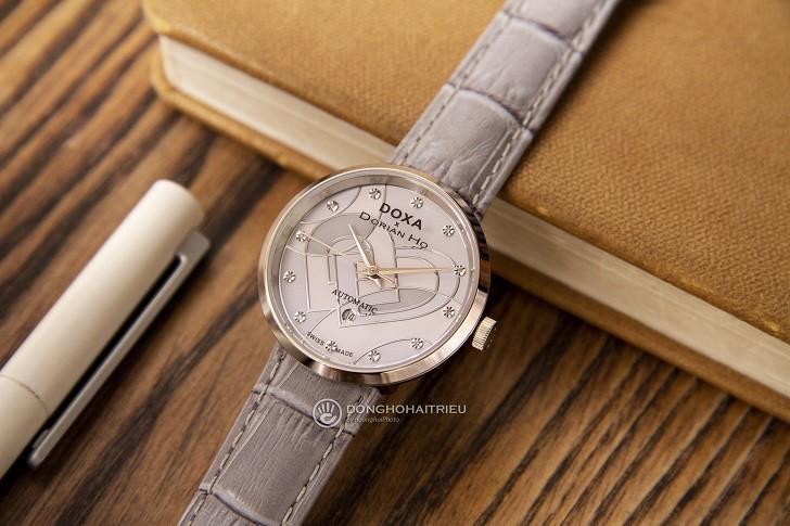 Đồng hồ Doxa D225SBU đính 12 kim cương | Collab Dorian Ho - Ảnh: 2