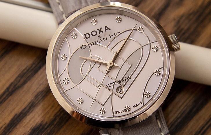 Đồng hồ Doxa D225SBU đính 12 kim cương | Collab Dorian Ho - Ảnh: 5