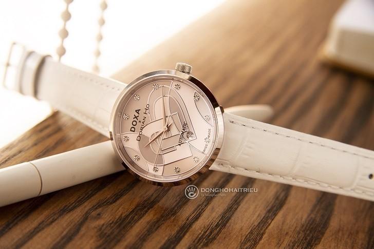 Đồng hồ Doxa D225SWH đính 12 kim cương | Collab Dorian Ho - Ảnh: 2