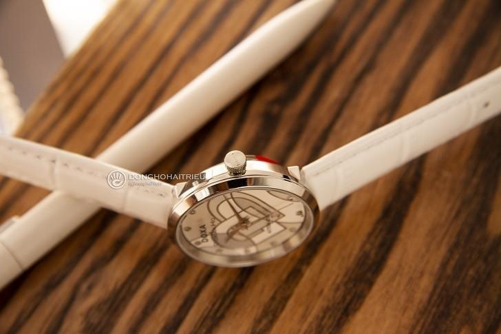 Đồng hồ Doxa D225SWH đính 12 kim cương | Collab Dorian Ho - Ảnh: 3