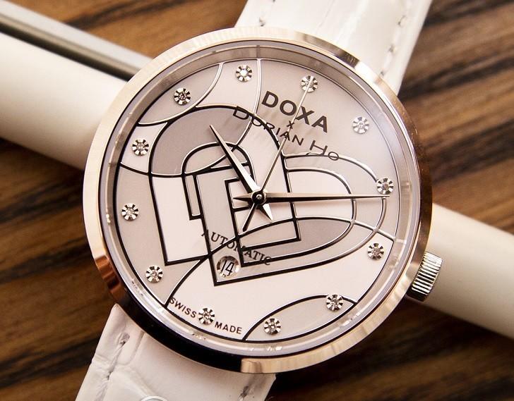 Đồng hồ Doxa D225SWH đính 12 kim cương | Collab Dorian Ho - Ảnh: 4