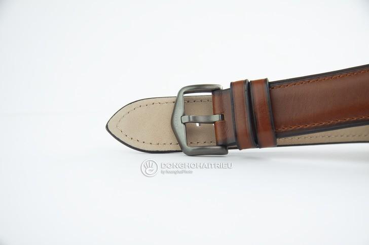 Đồng hồ Fossil FS5479 thời trang siêu mỏng, dây da lịch lãm - Ảnh 4