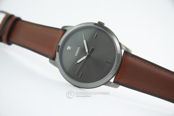Đồng hồ Fossil FS5479 thời trang siêu mỏng, dây da lịch lãm - Ảnh 8