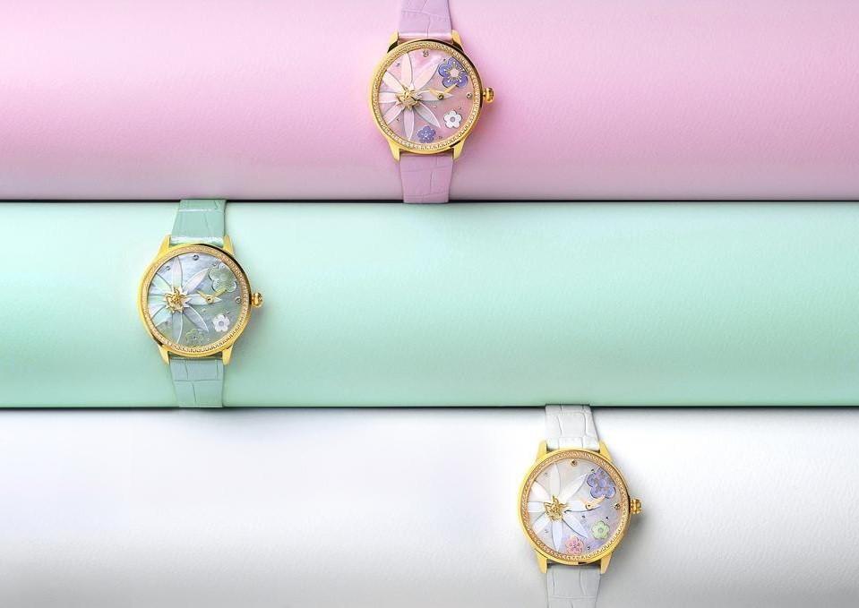 Đồng hồ Fouetté Or-Fairy I, phiên bản giới hạn 99 chiếc toàn cầu - Ảnh: 1