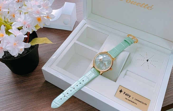 Đồng hồ Fouetté Or-Fairy I, phiên bản giới hạn 99 chiếc toàn cầu - Ảnh: 8