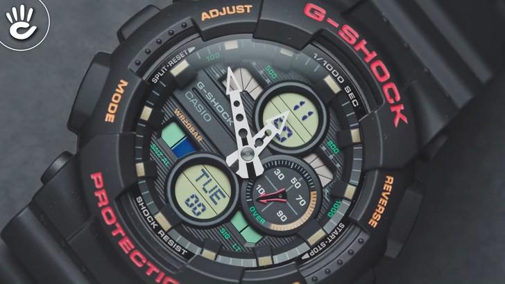 Đồng hồ G-Shock GA-140-1A4DR giá rẻ và thay pin miễn phí - Ảnh 2