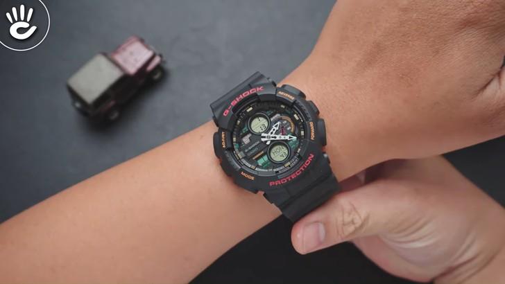 Đồng hồ G-Shock GA-140-1A4DR giá rẻ và thay pin miễn phí - Ảnh 3