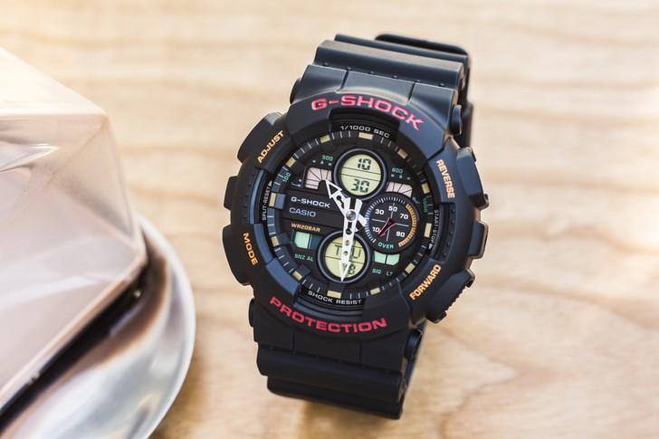Đồng hồ G-Shock GA-140-1A4DR giá rẻ và thay pin miễn phí - Ảnh 5