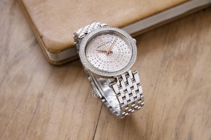 Đồng hồ nữ Michael Kors MK4409 đính đá pha lê sang trọng - Ảnh 1