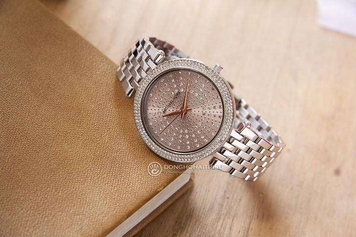 Đồng hồ nữ Michael Kors MK4409 đính đá pha lê sang trọng - Ảnh 2