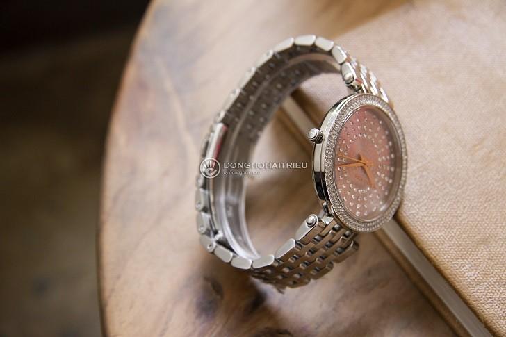 Đồng hồ nữ Michael Kors MK4409 đính đá pha lê sang trọng - Ảnh 3