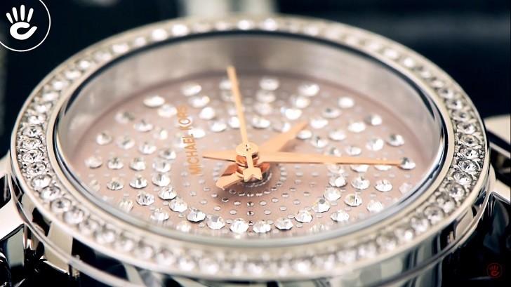 Đồng hồ nữ Michael Kors MK4409 đính đá pha lê sang trọng - Ảnh 5