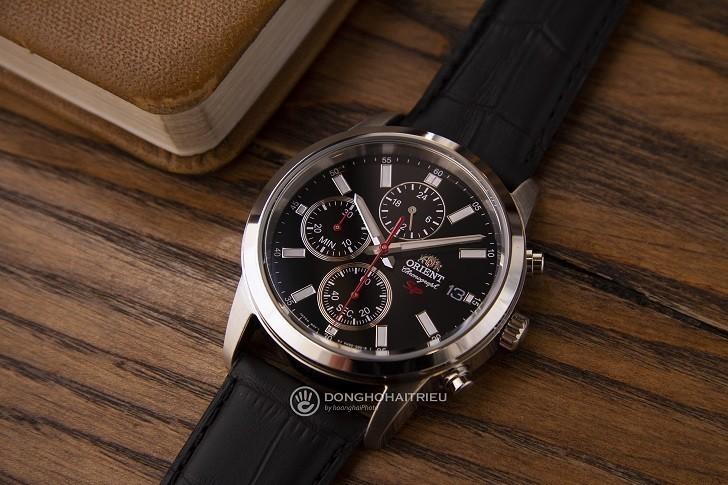 Đồng hồ Orient FKU00004B0 giá rẻ, có Chronograph thể thao - Ảnh: 3
