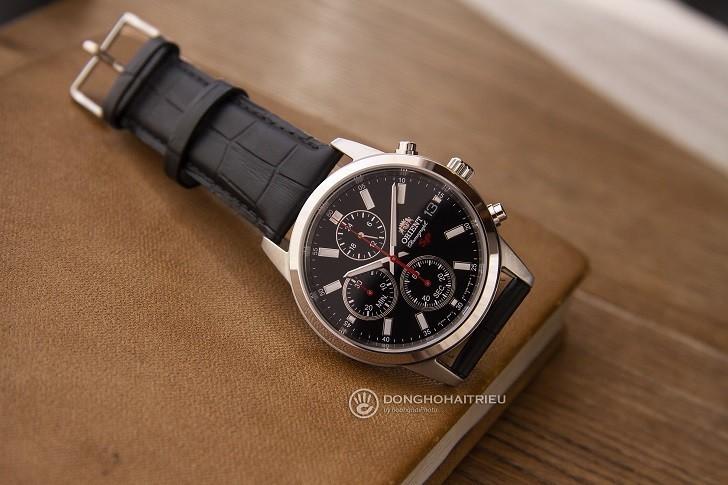 Đồng hồ Orient FKU00004B0 giá rẻ, có Chronograph thể thao - Ảnh: 4