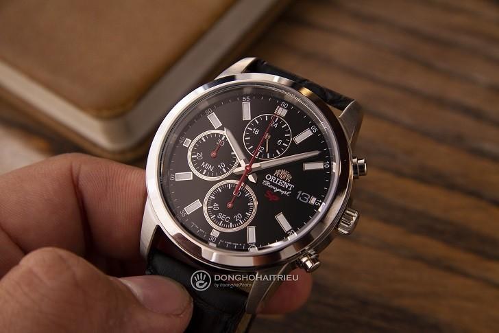 Đồng hồ Orient FKU00004B0 giá rẻ, có Chronograph thể thao - Ảnh: 5
