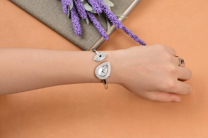 Đồng hồ nữ Saga 71865 SVMWSV-2S đính đá Swarovski độc đáo - Ảnh 5
