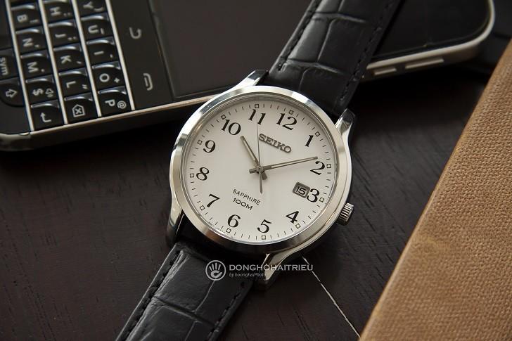 Đồng hồ Seiko SGEH69P1 chống nước 10ATM, có dạ quang - Ảnh: 4