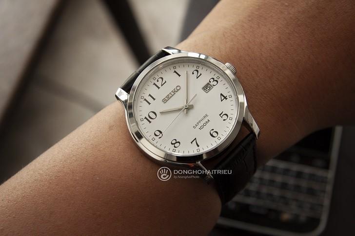 Đồng hồ Seiko SGEH69P1 chống nước 10ATM, có dạ quang - Ảnh: 5