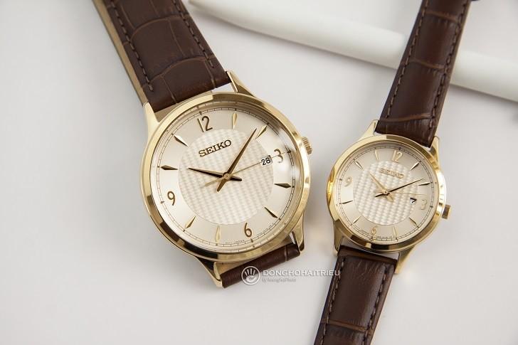 Đánh giá đồng hồ Seiko SGEH86P1 chống nước 10ATM, đi bơi - Ảnh: 1