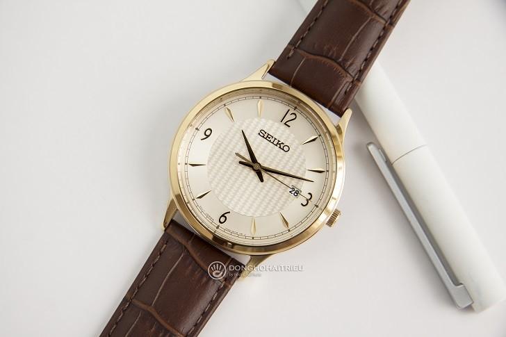 Đánh giá đồng hồ Seiko SGEH86P1 chống nước 10ATM, đi bơi - Ảnh: 5