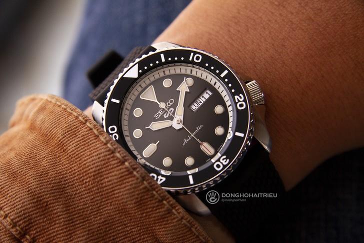 Đồng hồ nam Seiko SRPD73K2 máy cơ, trữ cót lên đến 40 giờ - Ảnh 1