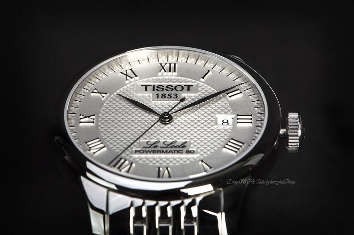 Đồng hồ Tissot T006.407.11.033.00 trữ cót lên đến 80 giờ - Ảnh: 2