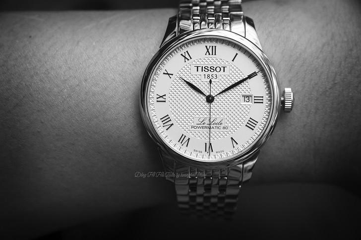 Đồng hồ Tissot T006.407.11.033.00 trữ cót lên đến 80 giờ - Ảnh: 5