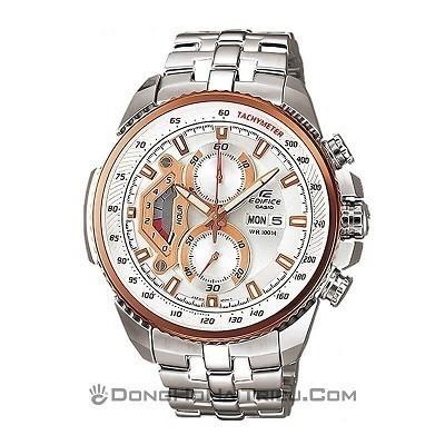 TOP 10 chiếc đồng hồ nam giá từ 5 đến 10 triệu bán chạy nhất - Ảnh: Casio EF-558D-7AVUDF