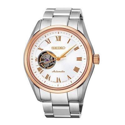 Top 15 đồng hồ Open Heart từ 3 hãng hàng đầu Nhật Bản - Ảnh: Seiko SSA872J1