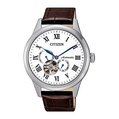 Top 15 đồng hồ Open Heart từ 3 hãng hàng đầu Nhật Bản - Ảnh: Citizen NP1020-15A