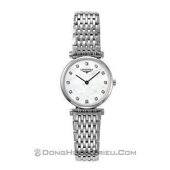 30+ mẫu đồng hồ ý nghĩa trong ngày 8/3 tặng mẹ và vợ - Ảnh: Longines L4.209.4.87.6