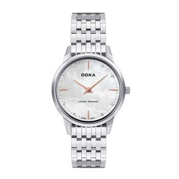 30+ mẫu đồng hồ ý nghĩa trong ngày 8/3 tặng mẹ và vợ - Ảnh: Doxa D158SWH