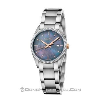 30+ mẫu đồng hồ ý nghĩa trong ngày 8/3 tặng mẹ và vợ - Ảnh: Calvin Klein K5R33B4Y