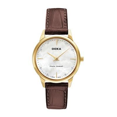 30+ mẫu đồng hồ ý nghĩa trong ngày 8/3 tặng mẹ và vợ - Ảnh: Doxa D158KWH
