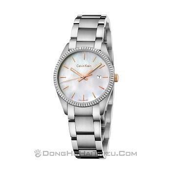 30+ mẫu đồng hồ ý nghĩa trong ngày 8/3 tặng mẹ và vợ - Ảnh: Calvin Klein K5R33B4G