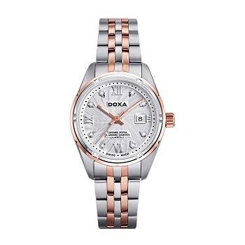 30+ mẫu đồng hồ ý nghĩa trong ngày 8/3 tặng mẹ và vợ - Ảnh: Doxa D174RWH