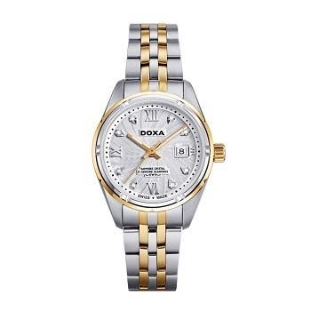 30+ mẫu đồng hồ ý nghĩa trong ngày 8/3 tặng mẹ và vợ - Ảnh: Doxa D174TWH