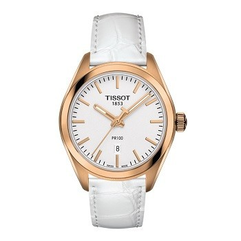 30+ mẫu đồng hồ ý nghĩa trong ngày 8/3 tặng mẹ và vợ - Ảnh: Tissot T101.210.36.031.01
