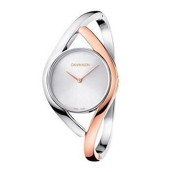 30+ mẫu đồng hồ ý nghĩa trong ngày 8/3 tặng mẹ và vợ - Ảnh: Calvin Klein K8U2SB16