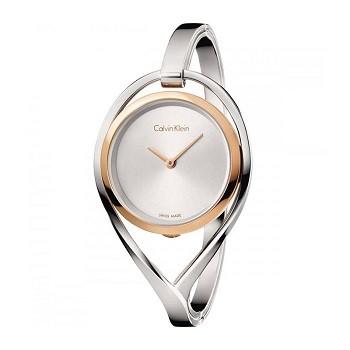 30+ mẫu đồng hồ ý nghĩa trong ngày 8/3 tặng mẹ và vợ - Ảnh: Calvin Klein K6L2MB16