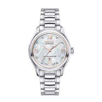 30+ mẫu đồng hồ ý nghĩa trong ngày 8/3 tặng mẹ và vợ - Ảnh: Doxa D219SMW