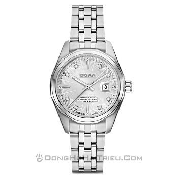 30+ mẫu đồng hồ ý nghĩa trong ngày 8/3 tặng mẹ và vợ - Ảnh: Doxa D176SWH