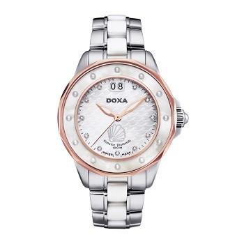 30+ mẫu đồng hồ ý nghĩa trong ngày 8/3 tặng mẹ và vợ - Ảnh: Doxa D151RMW