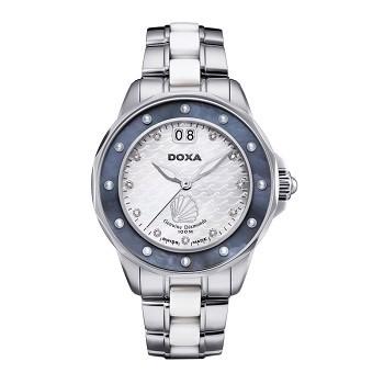 30+ mẫu đồng hồ ý nghĩa trong ngày 8/3 tặng mẹ và vợ - Ảnh: Doxa D151SMB
